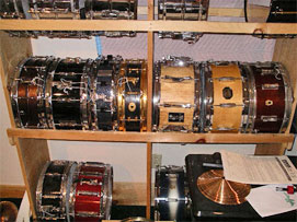 Some of the snare drums